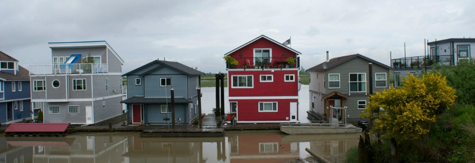 Westham Island float homes