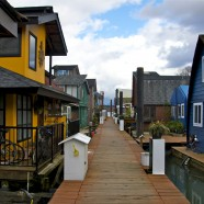 floating homes dock view